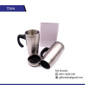 TS04 Drinkware Stenlis Cangkir