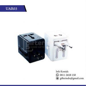 UAR03 Gadget Accesories Travel Adaptor Custom Logo