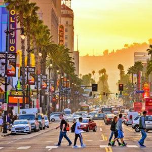 Concert tour of Los Angeles
