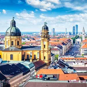 Concert tour of Munich