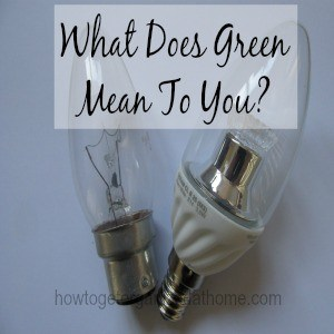 What Does Green Mean To You?