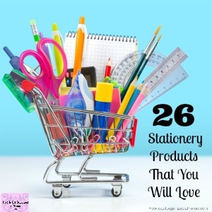 Stationery products that you will love! Just as much as I love them!
