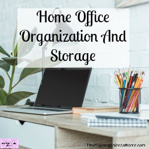 Organizing ideas for your home office! These tips will help you transform your home office in no time!
