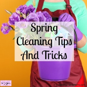 Simple tips and ideas to get you started on your spring cleaning