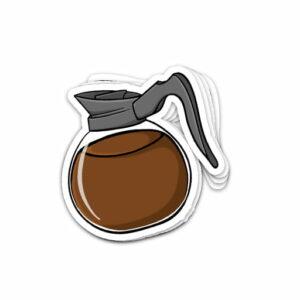 استیکر قهوه