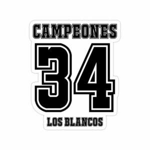استیکر رئال مادرید – قهرمانی لوس بلانکوس در لالیگا