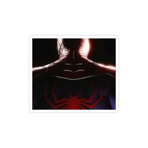 استیکر لپ تاپ مرد عنکبوتی