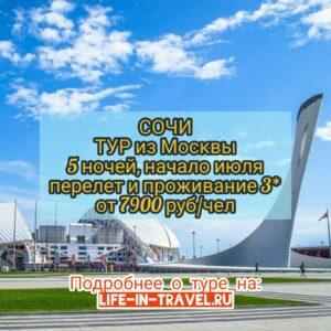 Тур в Сочи