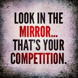 running 365 days a week- you're your own competition