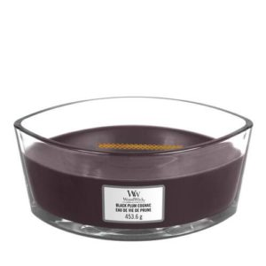 WoodWick® Elipse Candle – Black Plum Cognac