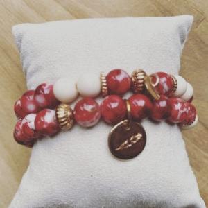 Isabelle – Handgemaakte Armbanden Set.