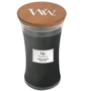 WoodWick® Large Candle – Black Peppercorn