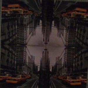 Serviette papier taxi à New York 33 cm x 33 cm