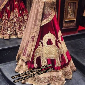 Top 10 boutiques in Amritsar , Trendy Bridal Lehenga