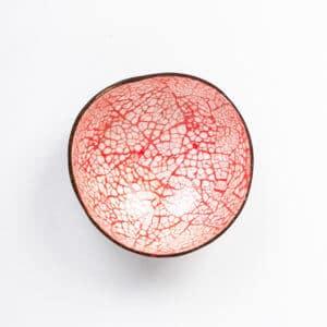 Rote Kokosnussschale Shopbild