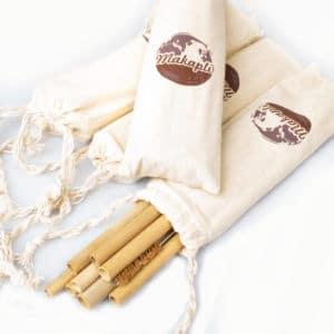 Bambustrinkhalme