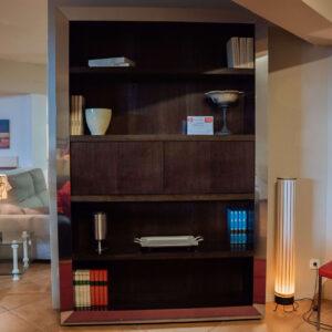 Mueble de comedor de madera nogal