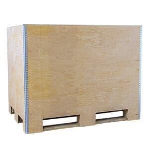NO-NAIL BOXES: EUROBOX - box that adapts to fit Euro pallets