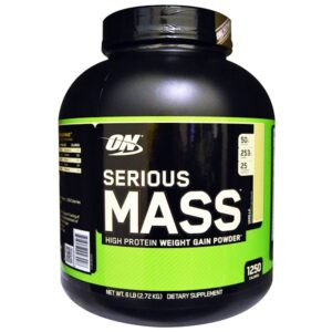 on serious mass 6 lbs