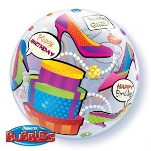 "Birthday Girl Shopping Spree ""Bubble"""