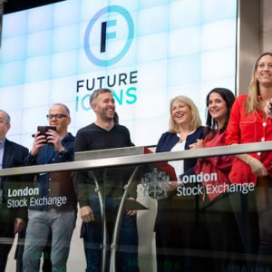 Joanne Smith opens the market at London Stock Exchange