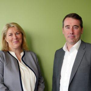 Joanne Smith Recordsure and Adrian Fisk KPMG