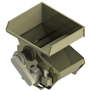 Scanhugger HL 4/14/13 hopper shredder 3d render with magazine
