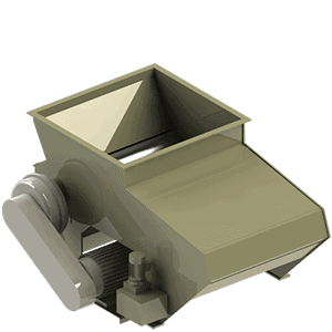 Scanhugger HL 3/10/10 hopper shredder 3d render with magazine