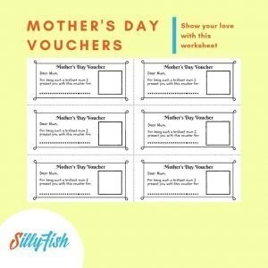 Product image for Mothers Day vouchers