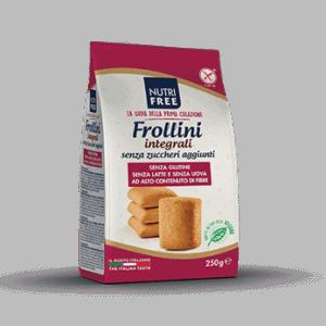 Nutrifree Veganski Keksi Frolini – polnozrnati brez sladkorja