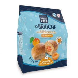 Nutrifree Le Brioche Marelica brez glutena