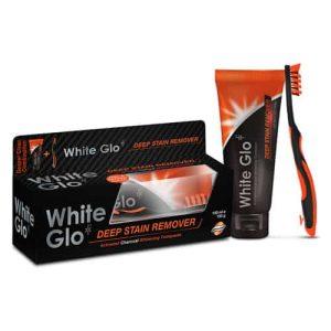 White Glo Zobna Pasta z Ogljem