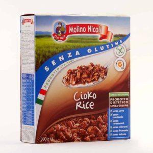 Molino Nicoli Čokoladni Riževi Kosmiči brez glutena
