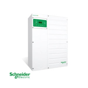 Solaire Laurentides - Onduleur/chargeur hybride Schneider XW+6848 NA 6800W 48Vdc - 120/240Vca, chargeur 140A