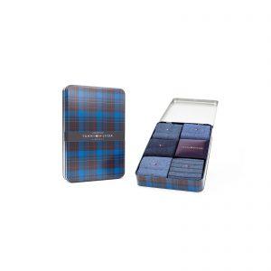 Giftbox Tommy Hilfiger 5-pack blauw