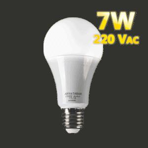 لامپ حبابی آریا تابان