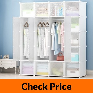 MEGAFUTURE JOISCOPE Portable Wardrobe for Hanging Clothes