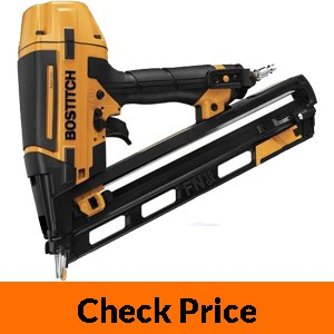 BOSTITCH Finish Nailer Kit, 15GA, FN Style with Smart Point