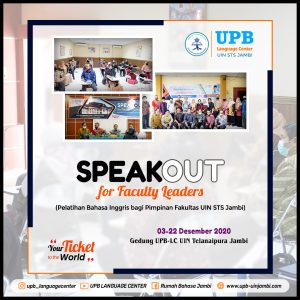 Speakout for Faculty Leader