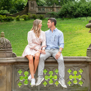 Engagement spots in Central Park