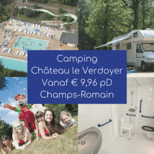 Banner Camping Chateau le verdoyer