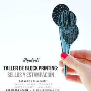 Taller Madrid carvado de sellos Ana Sola