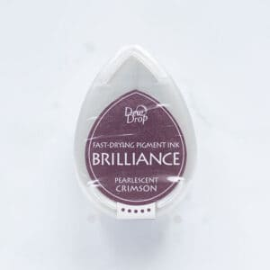 tinta-brilliance-mini-pearlescent-crimson-carmesi-perlado-materiales-carvado-sellos-ana-sola