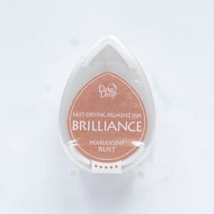 tinta-brilliance-mini-pearlescent-rust-oxido-perlado-materiales-carvado-sellos-ana-sola