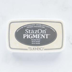 tinta-stazOn-pigment-koala-grey-gris-koala-materiales-carvado-sellos-ana-sola