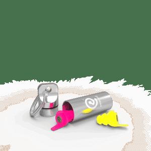 Earproof surf oordoppen verkrijgbaar bij Banaan in je oor