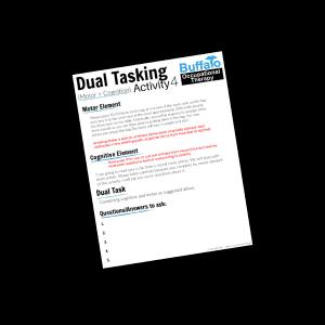 Dual Tasking Activity 4