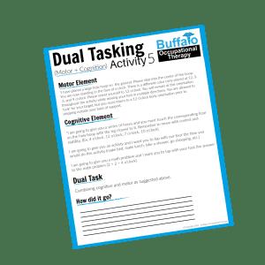 Dual Tasking Activity 5