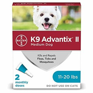 K9 Advantix II flea tick mosquito repellent bathe before after medication is given