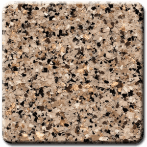 Epoxy flooring Mica Media Bagari SE Trillium garage floor coating color sample